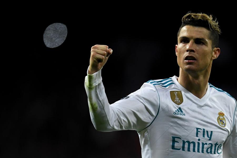 「2018年、レアルで決めたゴール数」1位にC・ロナウドが選ばれた【写真:Getty Images】