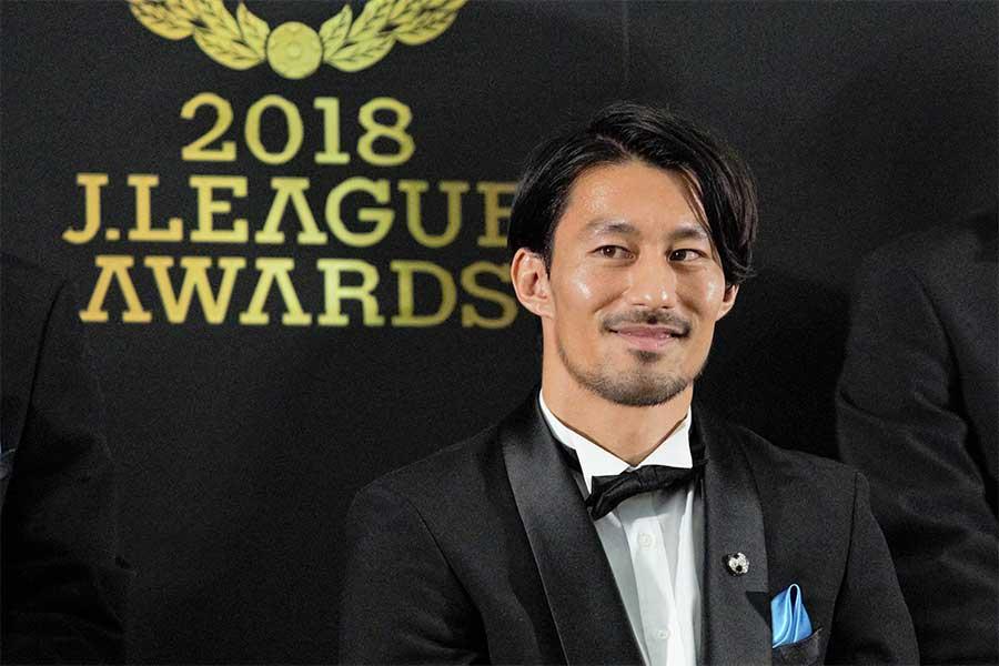 MVPを受賞した川崎MF家長昭博【写真:Noriko NAGANO】