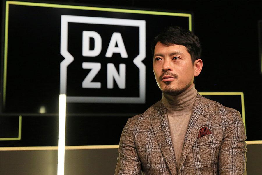 DAZNのアンバサダーを務める鈴木啓太氏【写真:Noriko NAGANO】