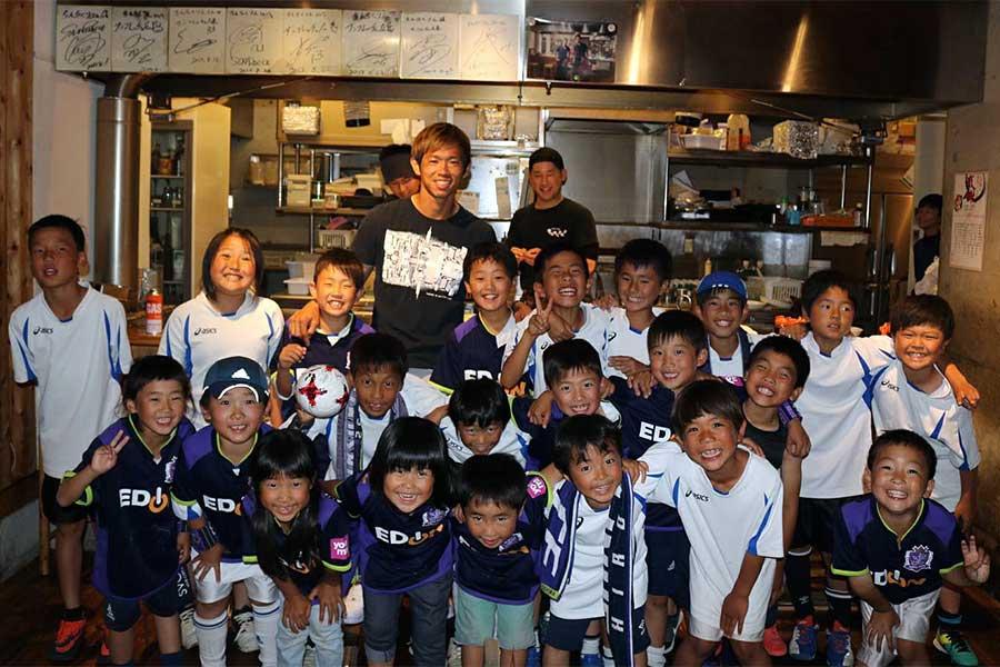 クラブW杯での活躍の裏には故郷・徳島からの熱いエールがあった【写真提供:吉田太治】