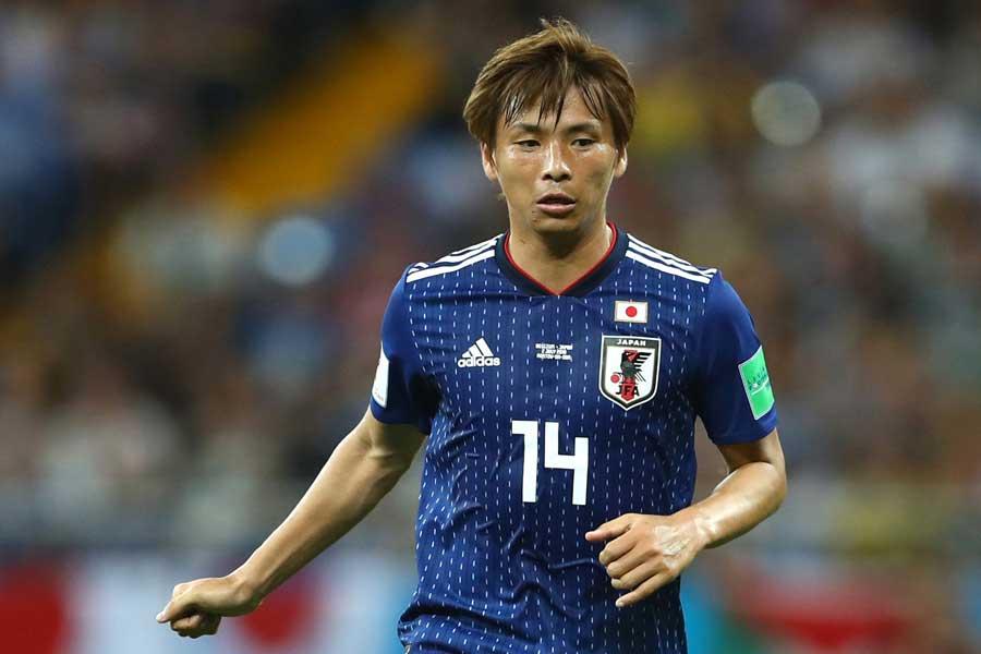 アジアカップメンバーに追加収集されたMF乾【写真:Getty Images】