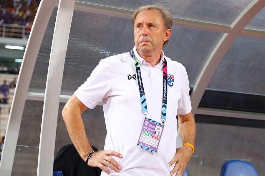 タイサッカー協会はライェヴァツ監督を解任したと発表【写真:Getty Images】