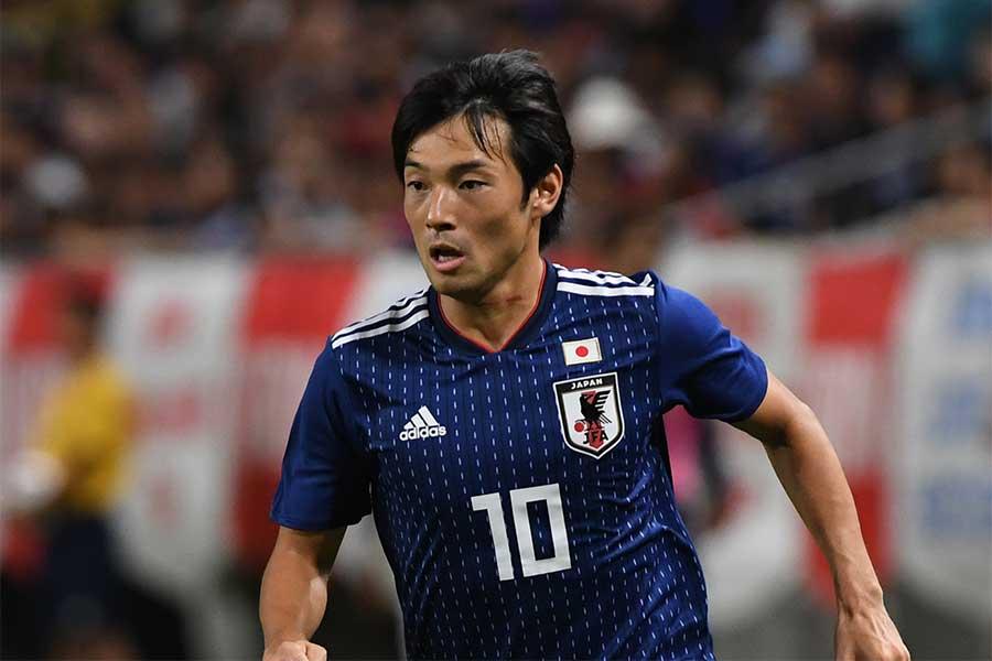 アジアカップの日本代表メンバーから負傷離脱となったMF中島翔哉【写真:Getty Images】
