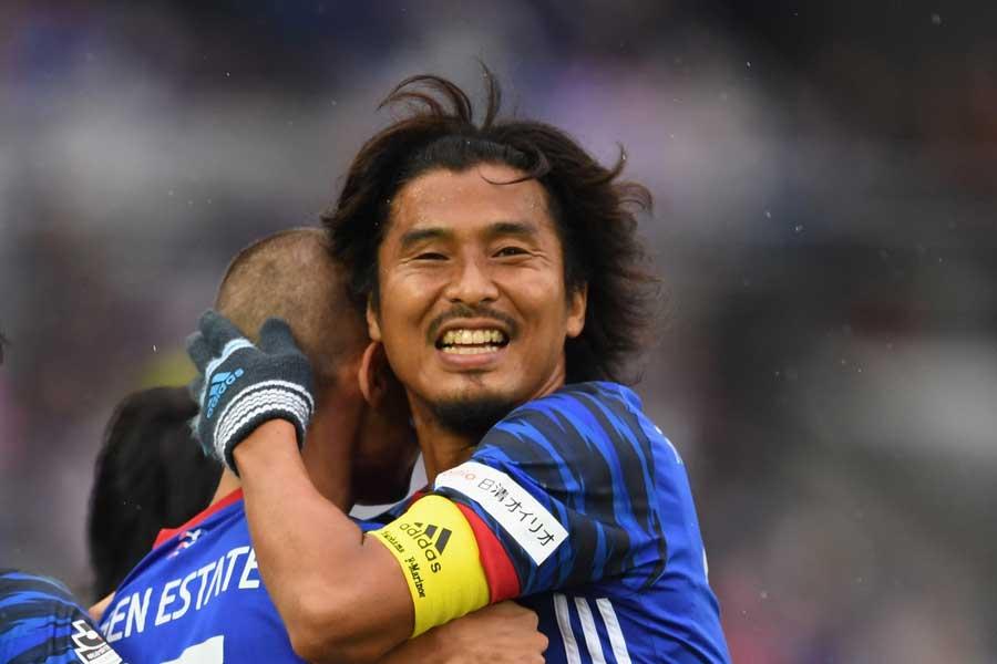 横浜F・マリノスは8日、中澤佑二が現役を引退することを正式発表した【写真:Getty Images】