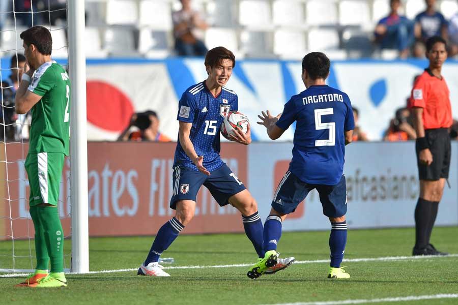 日本代表はアジアカップ初戦、3-2の勝利を収めた【写真:ⒸAFC】