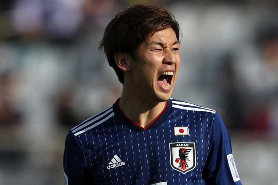 日本代表FW大迫【写真:Getty Images】