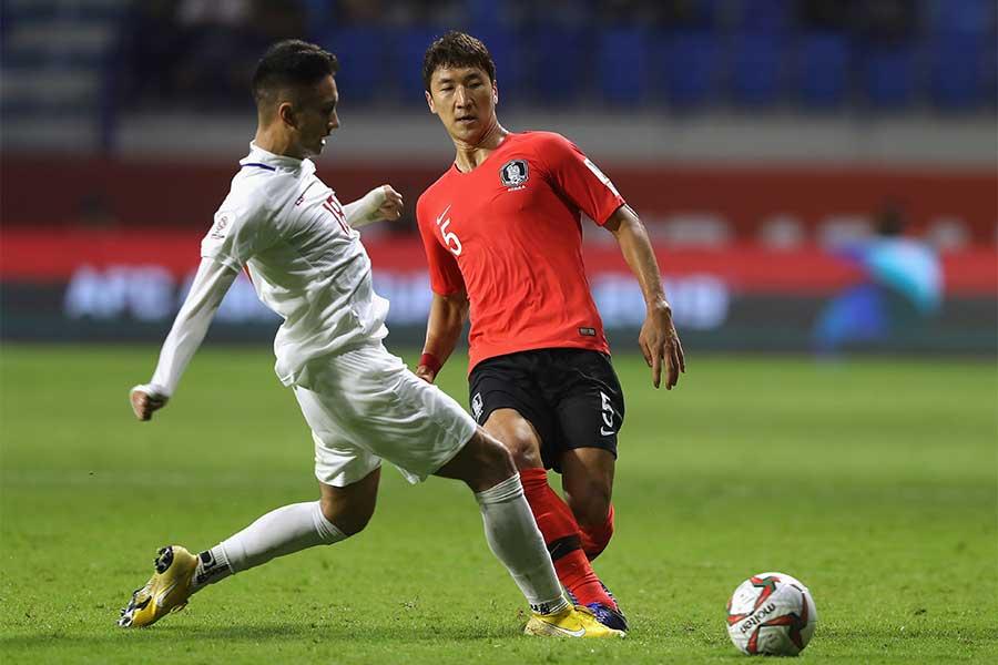 韓国がフィリピンに1-0で辛勝した【写真:Getty Images】
