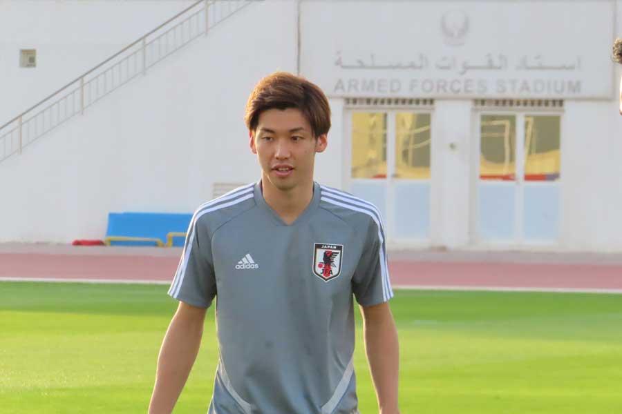 日本代表のFW大迫勇也【写真:Football ZONE web】