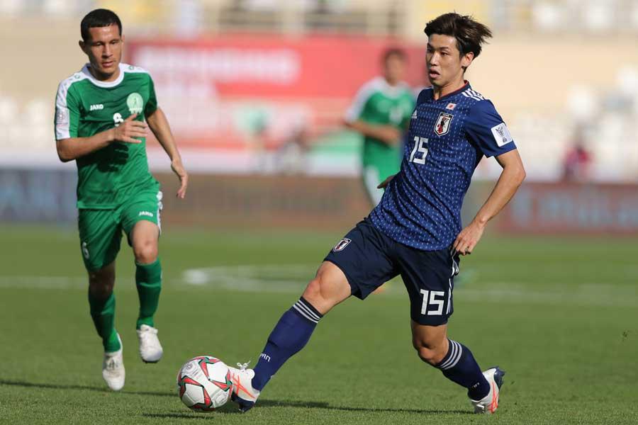 FW大迫の2ゴールで日本代表が逆転に成功【写真:AP】