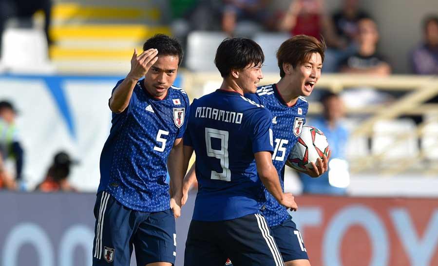 長友がアジアカップの難しさを改めて強調した【写真:©AFC】