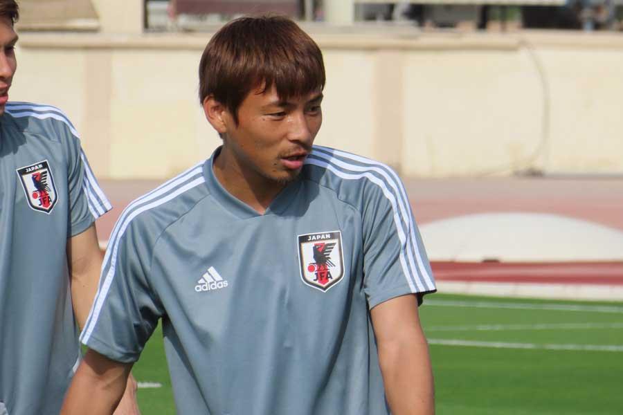 日本代表MF乾【写真:Football ZONE web】