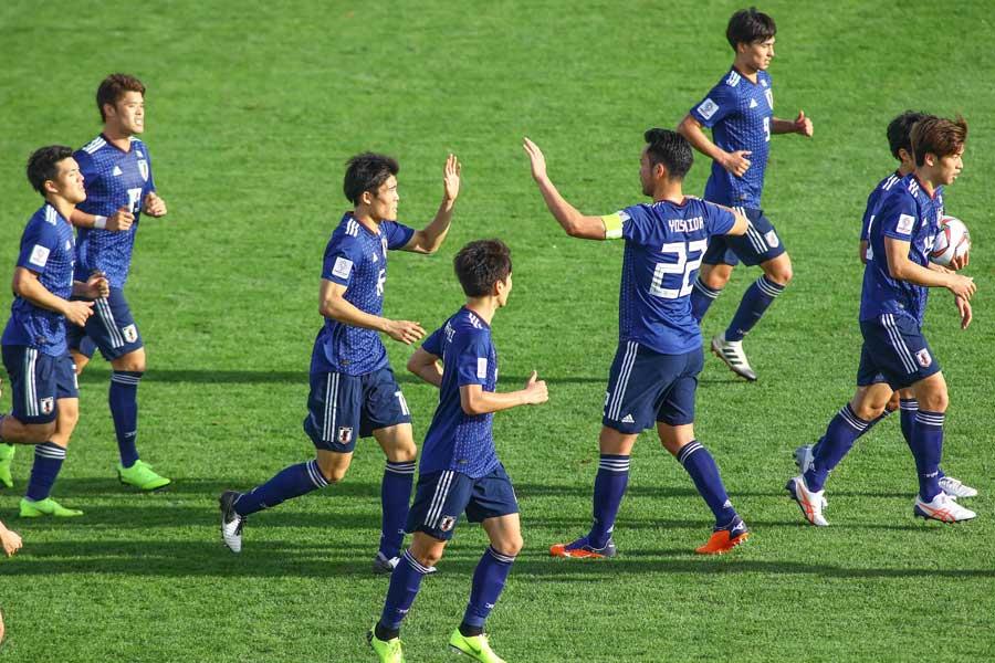 日本代表のアジアカップ初戦は、苦戦を強いられる結果となった【写真:©AFC】