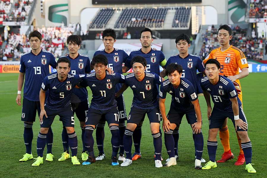 日本代表がオマーンに1-0で辛勝した【写真:Getty Images】