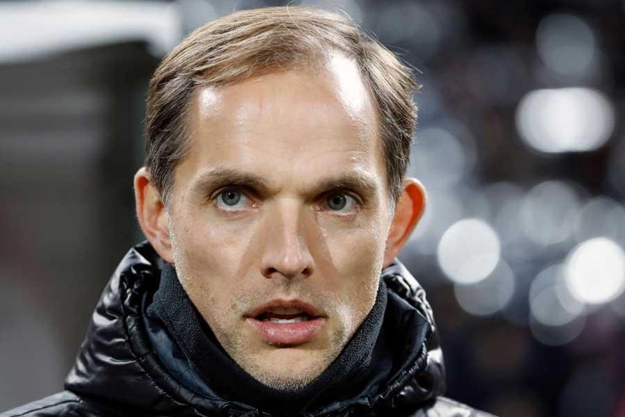 PSGのトーマス・トゥヘル監督【写真:Getty Images】