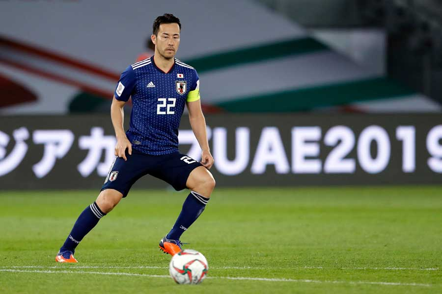 日本代表DF吉田【写真:AP】