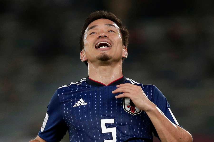 日本代表DF長友【写真:AP】