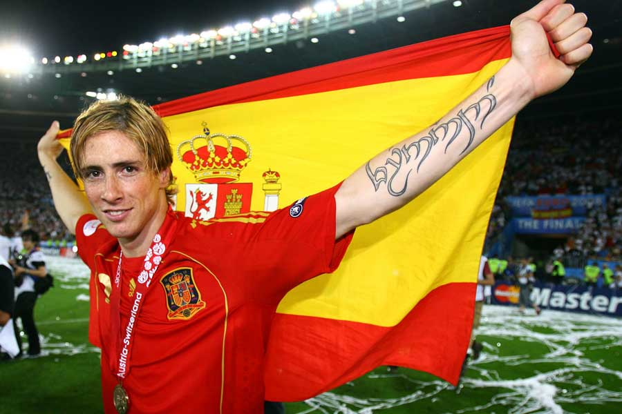 EURO2008決勝のドイツ戦でトーレスが決めた決勝ゴールに再脚光【写真:Getty Images】