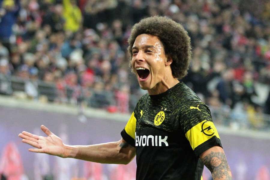 MFアクセル・ヴィツェルの決勝ゴールによってドルトムントが1-0で勝利を収めた【写真:Getty Images】