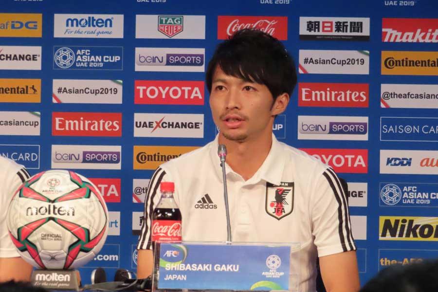 日本代表MF柴崎【写真:Football ZONE web】