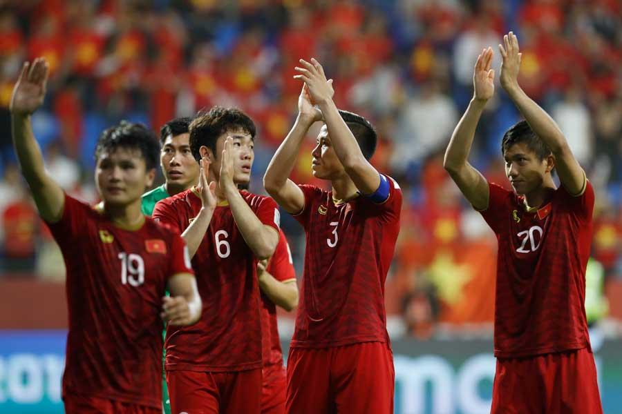 ベトナムメディアが日本相手の健闘を称賛【写真:AP】