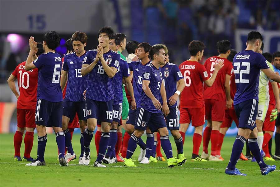 アジアカップ準々決勝でベトナムを1-0で破った日本【写真:Getty Images】