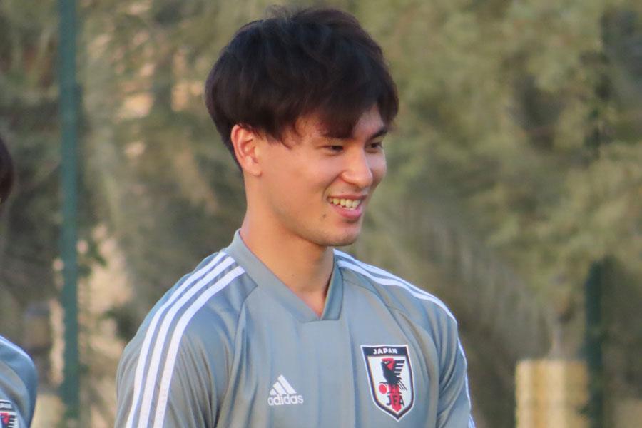 日本代表MF南野拓実【写真:Football ZONE web】