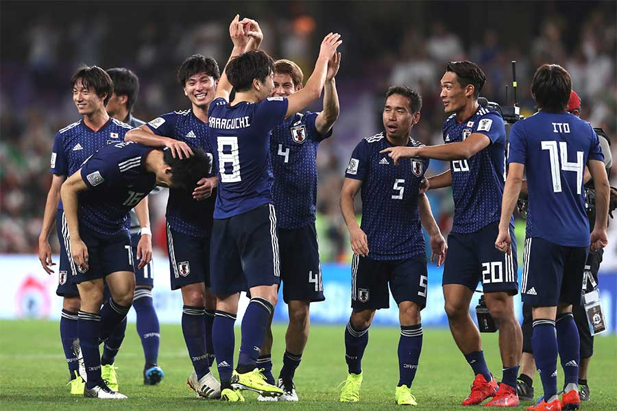 「アジアカップ 2019ゴールシーン」の画像検索結果