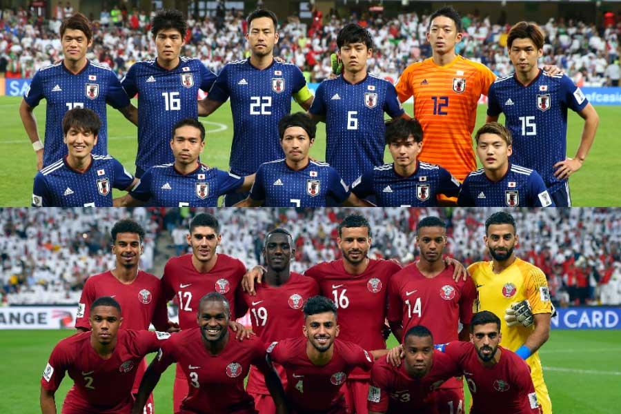 アジアカップ決勝戦は「日本対カタール」に決まった【写真:Getty Images】