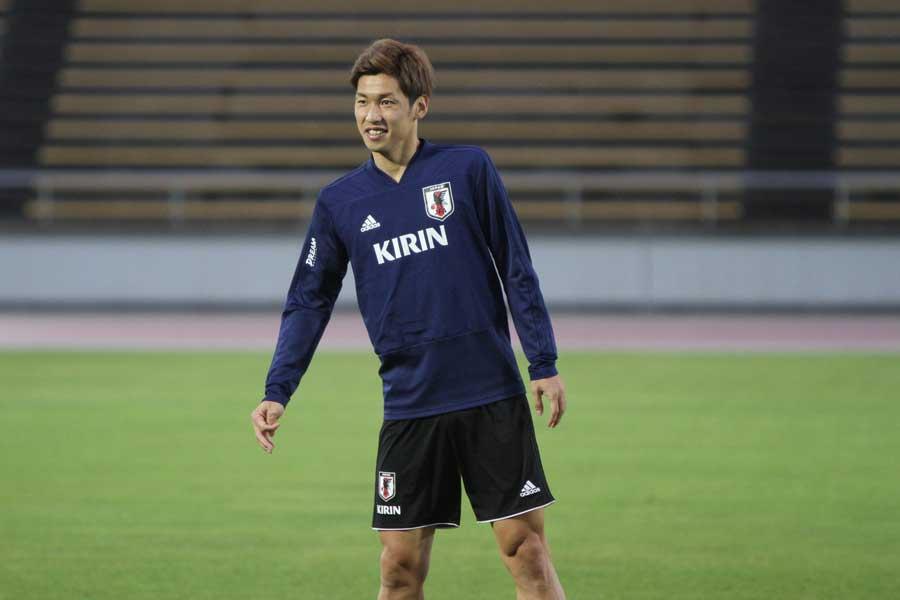 アジア杯注目選手の一人として日本代表FW大迫勇也が選出された【写真:Football ZONE web】