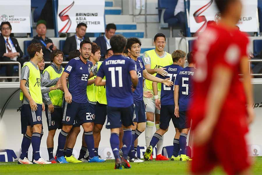 日本がベトナムに1-0で競り勝ち、ベスト4進出を決めた【写真:Yukihito Taguchi】