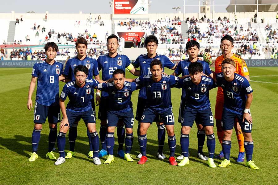 アジアカップ16強でサウジアラビアを1-0で破った日本【写真:Yukihito Taguchi】
