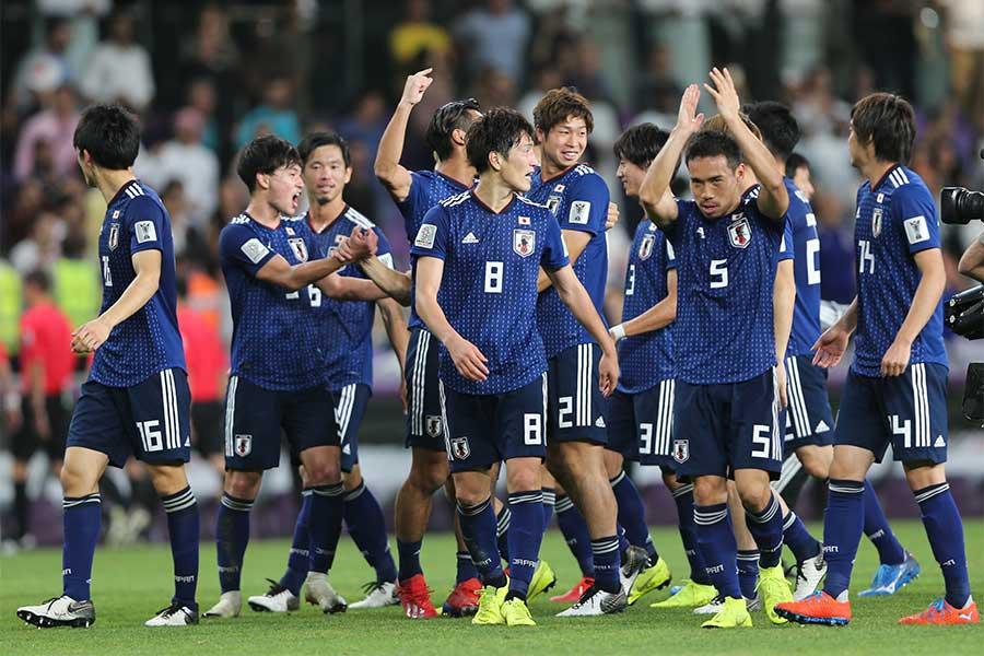 日本がイランに3-0と快勝した【写真:AP】