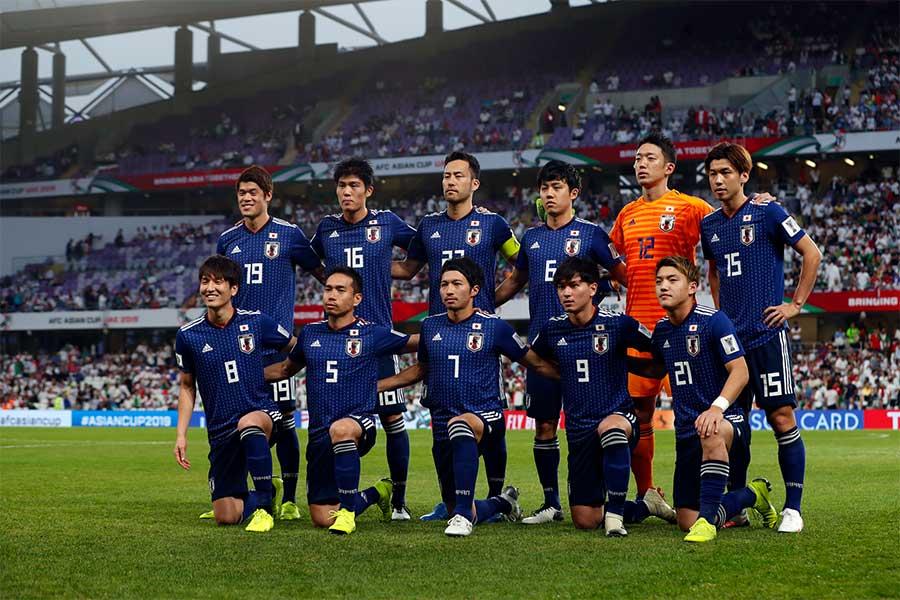 日本代表、アジア杯決勝・カタール戦のスタメン発表【写真:田口有史】