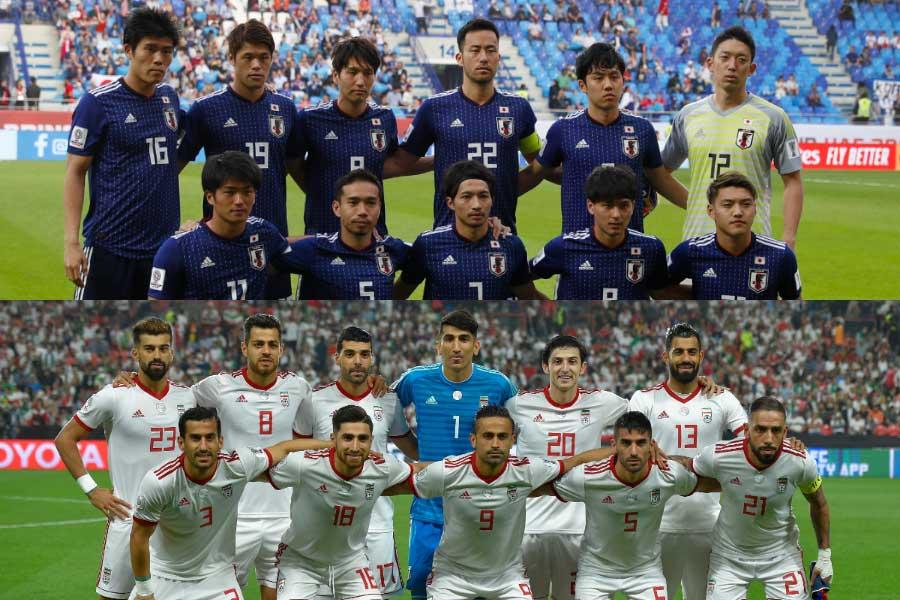 アジア杯準決勝、日本の相手はイランに決定【写真:Yukihito Taguchi & Getty Images】