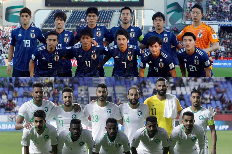 日本は決勝トーナメント1回戦でサウジアラビアと対戦【写真:AP】