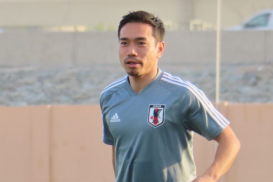 日本代表DF長友佑都【写真:Football ZONE web】