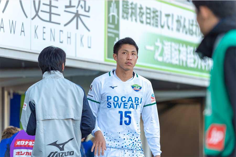 井筒陸也がクラブとの契約満了をもってプロサッカー選手を引退すると発表した【写真:TOKUSHIMA VORTIS】
