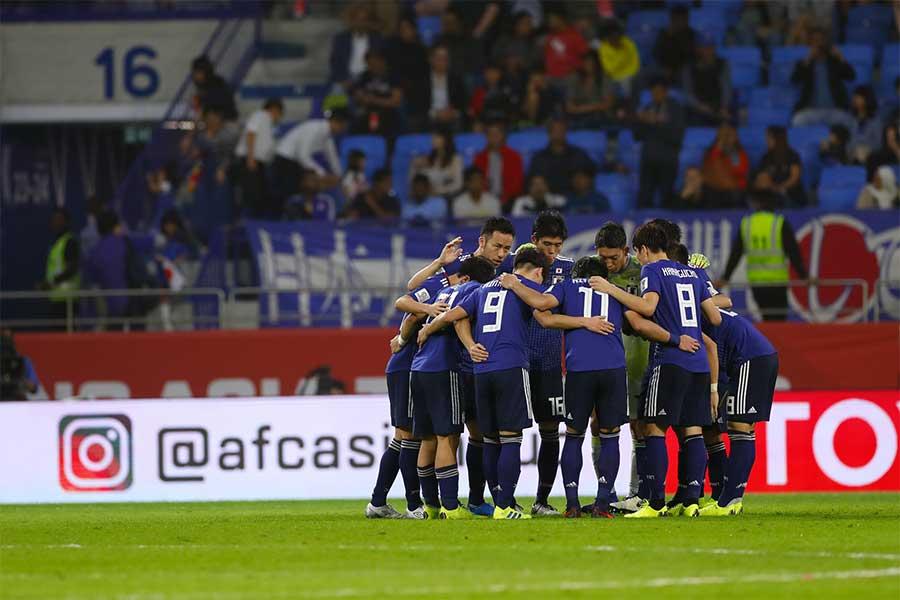アジア杯決勝ではカタールと対戦する日本【写真:田口有史】