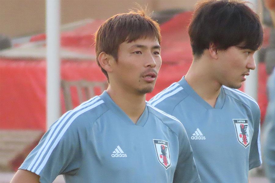 日本代表MF乾貴士【写真:Football ZONE web】