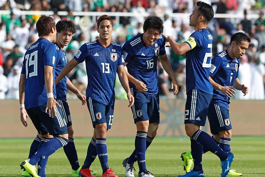DF冨安の決勝弾でサウジアラビアに1-0勝利【写真:AP】