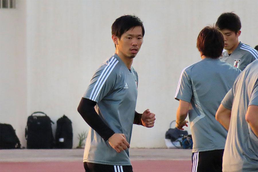 3年3カ月ぶりに代表復帰を果たしたDF塩谷司【写真:Football ZONE web】