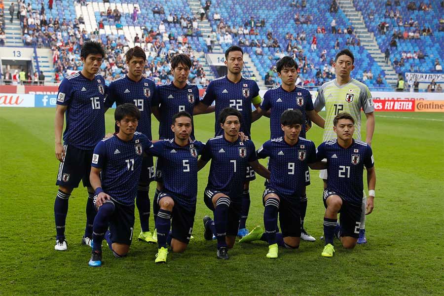 ウルグアイ、エクアドル、チリと同じグループCに組み込まれた日本【写真:田口有史】