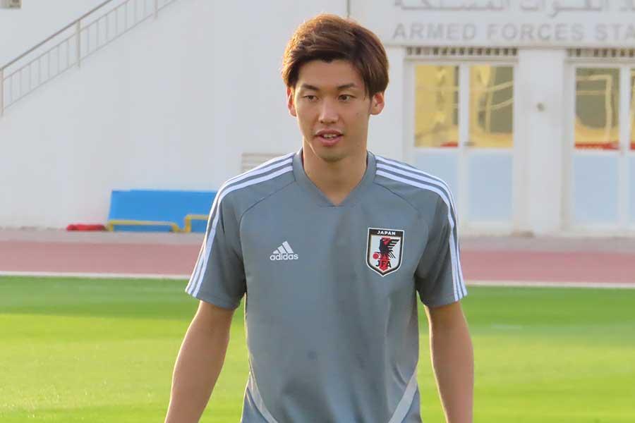 日本代表FW大迫勇也【写真:Football ZONE web】