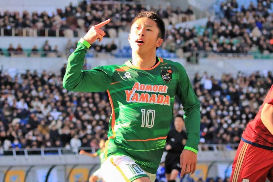 J1札幌内定の檀崎が2発、流経柏を3-1で撃破【写真:Noriko NAGANO】