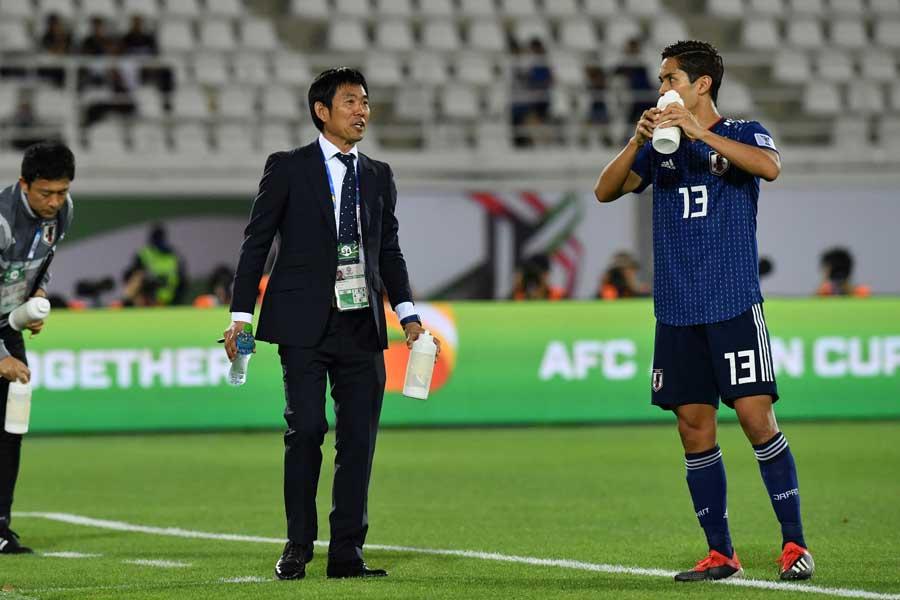 決勝トーナメント進出を決めた日本、その一方で注目を集めたのが交代枠だ【写真:©AFC 】