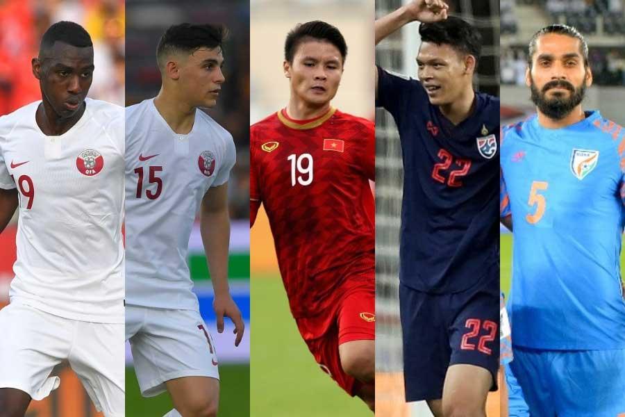 アジア杯で輝いた「国外移籍すべき5人」を海外メディアが選出【写真:Getty Images & ©AFC 】