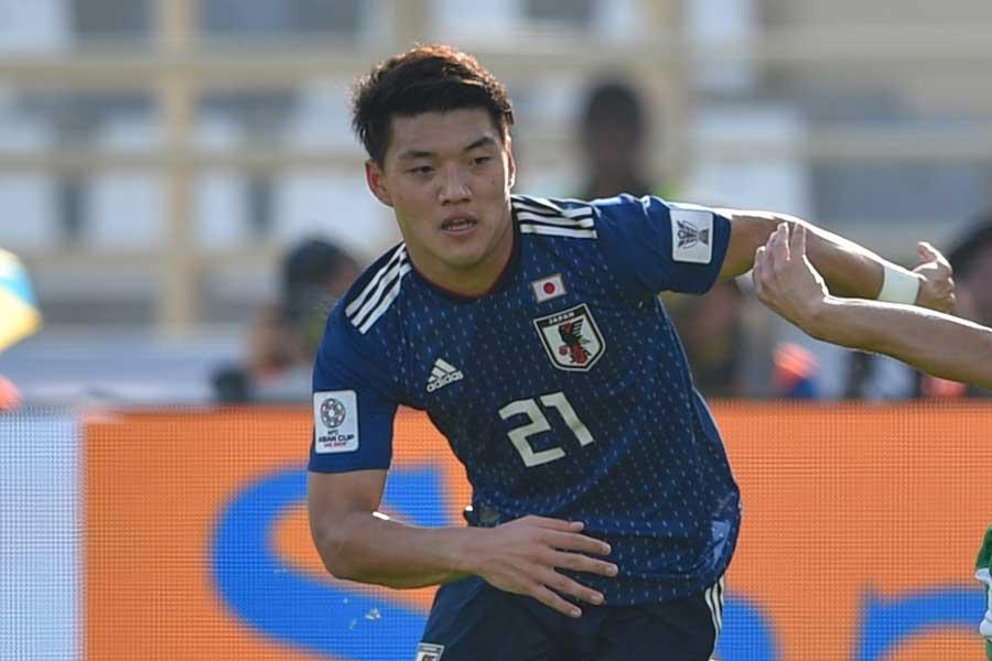 日本代表MF堂安律【写真:©AFC 】