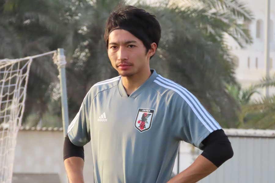日本代表のMF柴崎岳【写真:Football ZONE web】