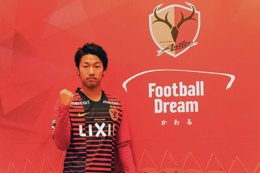 横浜FMから鹿島に新加入したFW伊藤翔【写真:Football ZONE web】