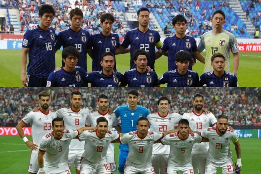 28日の準決勝で強豪イランと対戦する日本【写真:田口有史 & Getty Images】